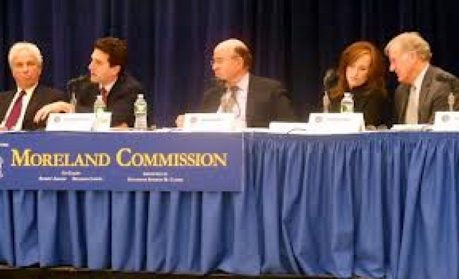 What's new with the Moreland Commission?