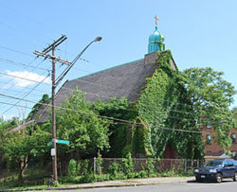 The possible demolition of the Church of the Holy Innocents in Albany