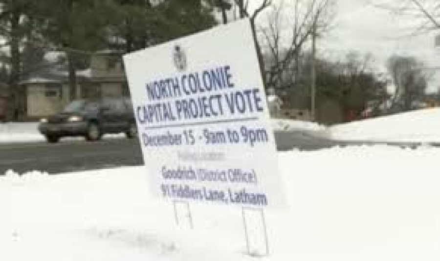 Mike Conners talks about the North Colonie school vote
