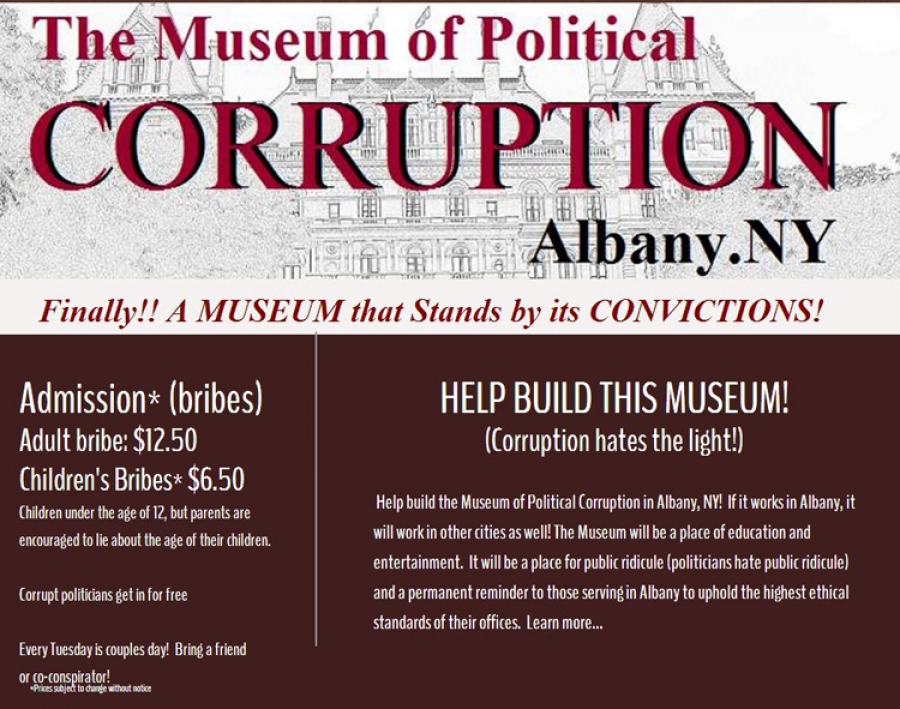 The Museum of Political Corruption in Albany