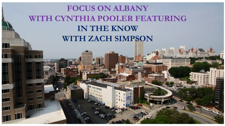 Introducing Zach Simpson, who will be having on going conversations with me about what is going on in Albany