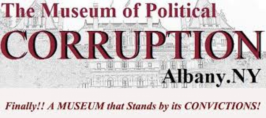 Bruce Roter talks about the THE MUSEUM OF POLITICAL CORRUPTION second annual Nellie Bly award on Thursday November 29 in Albany