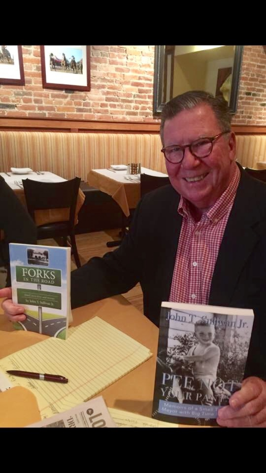 John Sullivan discusses his new book about politics in NYS